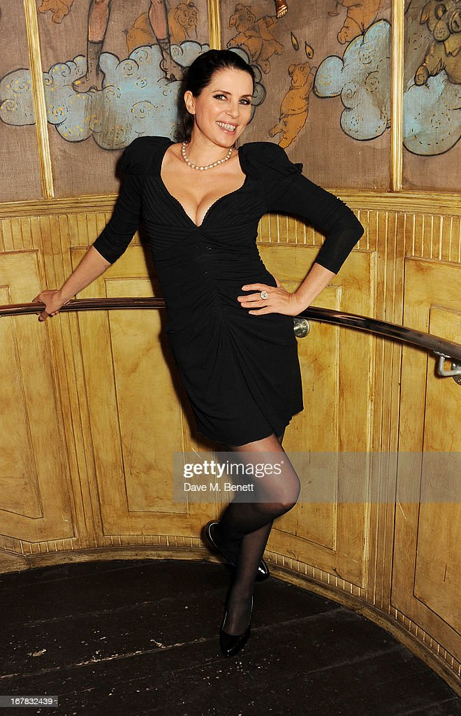 <a gi-track='captionPersonalityLinkClicked' href=/galleries/search?phrase=Sadie+Frost&family=editorial&specificpeople=201927 ng-click='$event.stopPropagation()'>Sadie Frost</a> attends Fran Cutler's surprise birthday party supported by ABSOLUT Elyx at The Box Soho on April 30, 2013 in London, England.