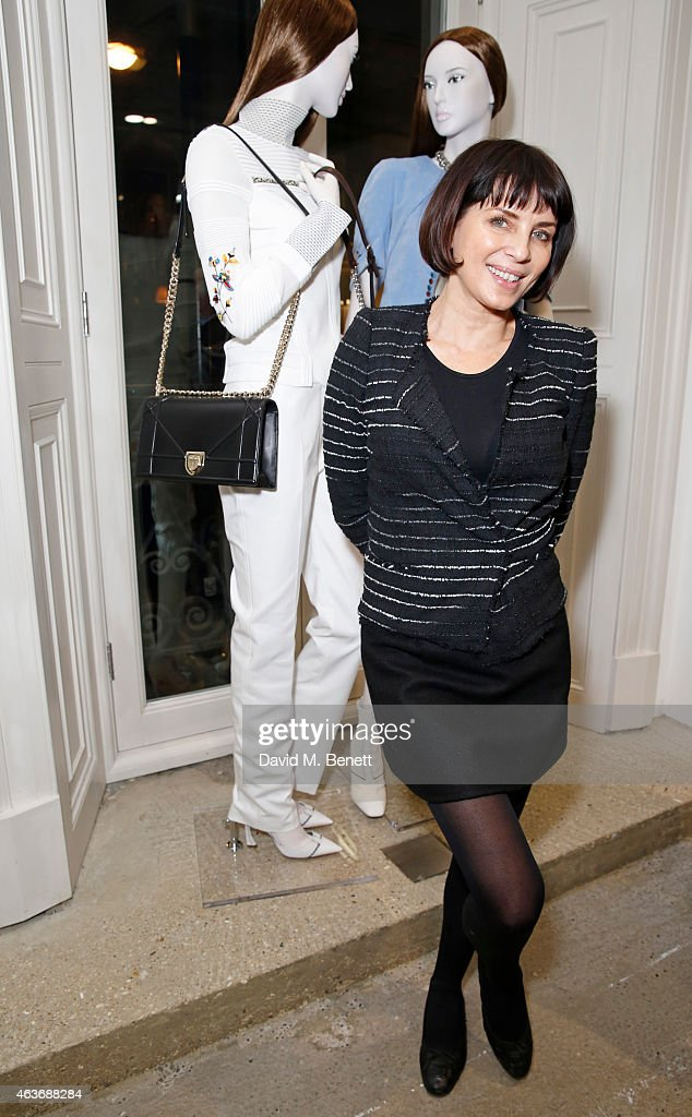 Sadie Frost attends the Dior 'Diorama' Launch at Dover Street Market on February 17 2015 in London England