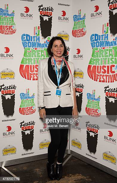 Sadie Frost attends the launch of Edith Bowman's new book 'Great British Music Festivals' in association with Ticketmaster Festie Guru at The Stag on...