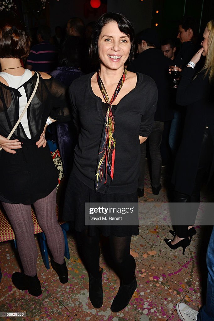 <a gi-track='captionPersonalityLinkClicked' href=/galleries/search?phrase=Sadie+Frost&family=editorial&specificpeople=201927 ng-click='$event.stopPropagation()'>Sadie Frost</a> attends the launch of Same Old Sean's new EP 'Reckless' at Cafe KaiZen on November 13, 2014 in London, England.