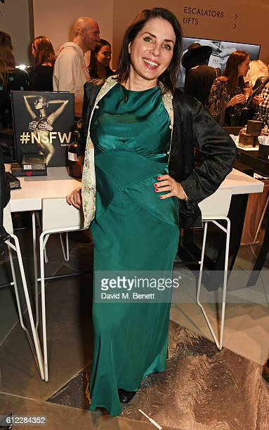 Sadie Frost attends the launch of 'SX Rankin' a new fragrance collaboration between photographer Rankin and fragrance designer Azzi Glasser at Harvey...