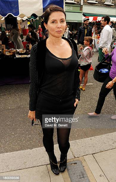 Sadie Frost attends the Primrose Hill Festival on September 8 2013 in London England