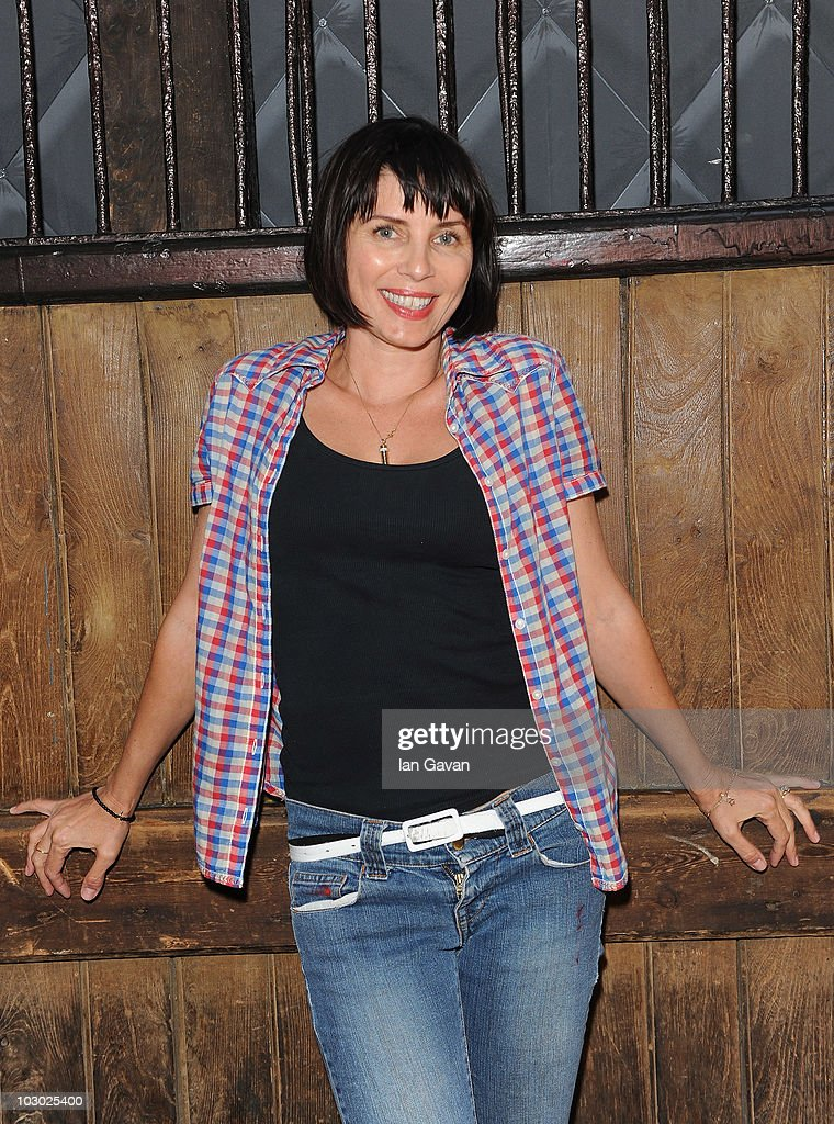 Sadie Frost attends The Six Shooters exhibition at Proud Camden on July 21 2010 in London England