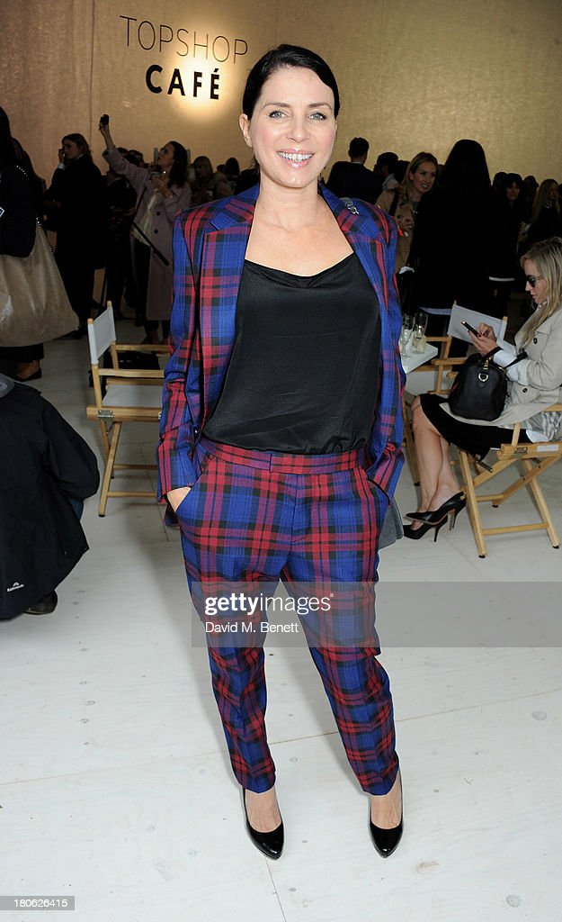 <a gi-track='captionPersonalityLinkClicked' href=/galleries/search?phrase=Sadie+Frost&family=editorial&specificpeople=201927 ng-click='$event.stopPropagation()'>Sadie Frost</a> attends the Unique SS14 show during London Fashion Week on September 15, 2013 in London, England.