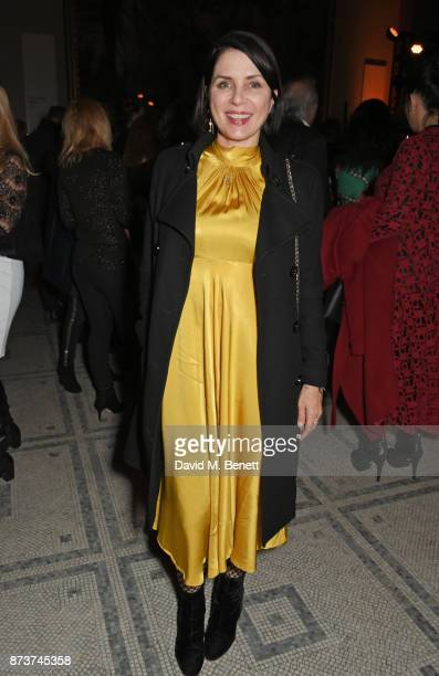 Sadie Frost attends the unveiling of 'The Adoration Trilogy Searching For Apollo' by Alistair Morrison hosted by Roger Daltrey to benefit the Teenage...