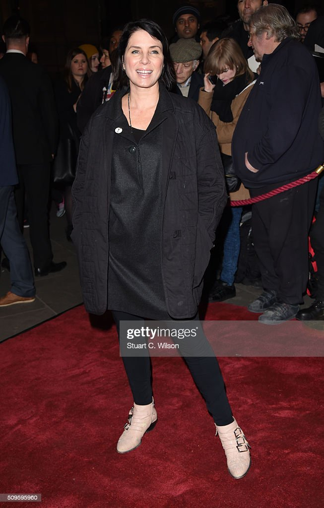 <a gi-track='captionPersonalityLinkClicked' href=/galleries/search?phrase=Sadie+Frost&family=editorial&specificpeople=201927 ng-click='$event.stopPropagation()'>Sadie Frost</a> attends the World Premiere of 'End Of Longing', written by and starring Matthew Perry at Playhouse Theatre on February 11, 2016 in London, England.