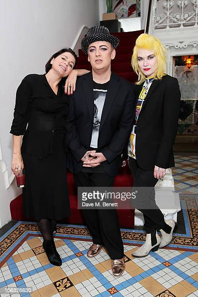Sadie Frost Boy George and Pam Hogg attend as Boy George and Gizzi Erskine host a Great British C Party in support of The Hepatitis C Trust the UK...