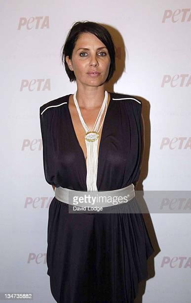Sadie Frost during PETA's Humanitarian Awards Inside at 30 Bruton Street in London Great Britain
