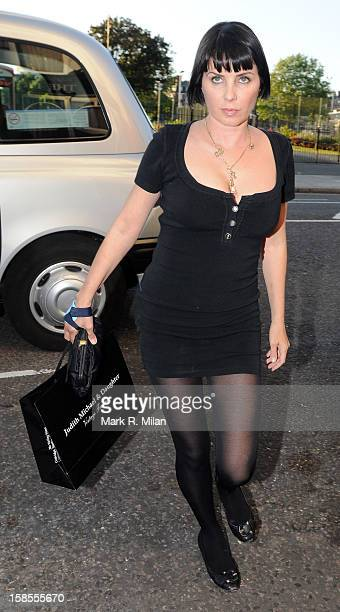 Sadie Frost is seen on June 19 2008 in London England