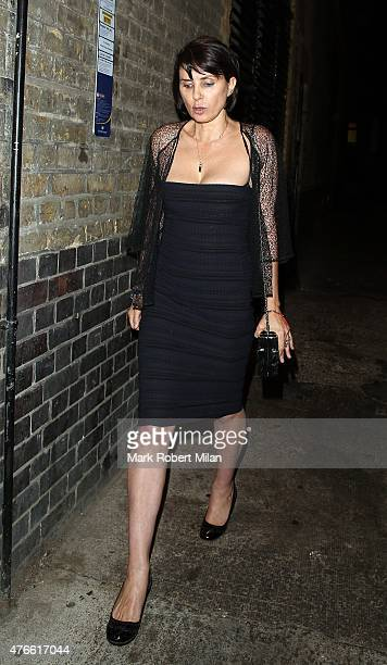 Sadie Frost leaving the Chiltern Firehouse on June 10 2015 in London England