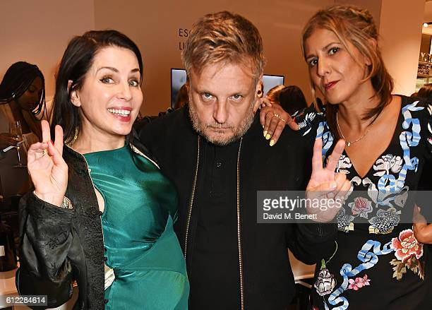 Sadie Frost Rankin and Azzi Glasser attend the launch of 'SX Rankin' a new fragrance collaboration between photographer Rankin and fragrance designer...