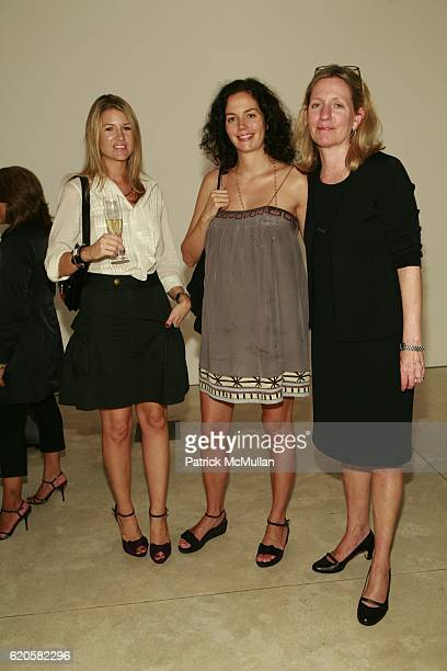 Sadie Monyovani Jenna Barnet and Elinore Carmody attend LOUIS XIII Celebrates WALLPAPER'S Guest Editor LOUISE BOURGEOISE with HELMUT LANG at Cheim...