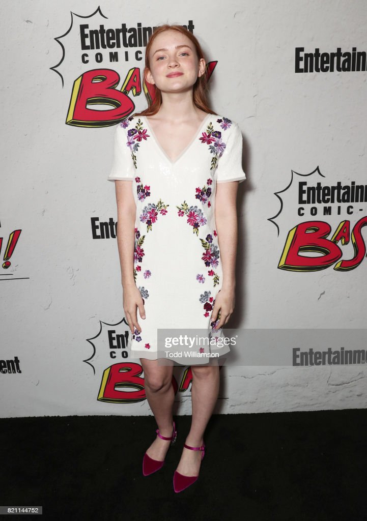 Sadie Sink at Entertainment Weekly's annual Comic-Con party in celebration of Comic-Con 2017 at Float at Hard Rock Hotel San Diego on July 22, 2017 in San Diego, California.