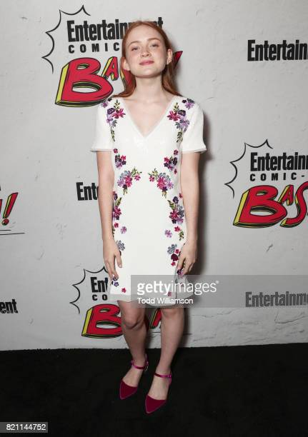 Sadie Sink at Entertainment Weekly's annual ComicCon party in celebration of ComicCon 2017 at Float at Hard Rock Hotel San Diego on July 22 2017 in...