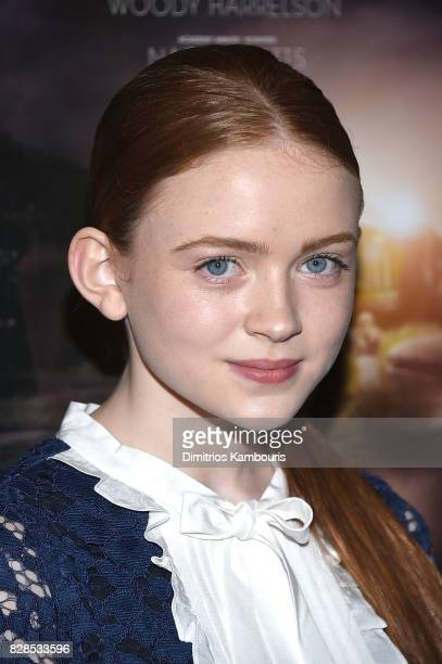 Sadie Sink attends 'The Glass Castle' New York Screening at SVA Theatre on August 9 2017 in New York City