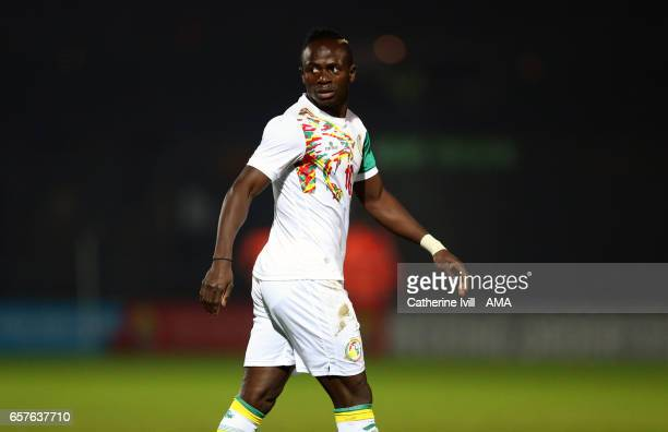 Sadio Mane of Senegal during the International Friendly match between Nigeria and Senegal at The Hive on March 23 2017 in Barnet England