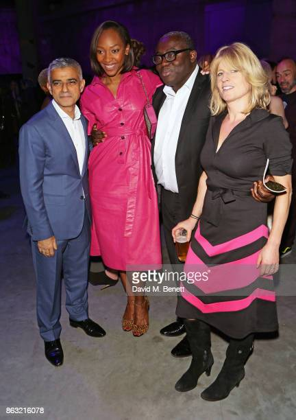 Sadiq Khan Vanessa Kingori Edward Enninful and Rachel Johnson attendThe London Evening Standard's Progress 1000 London's Most Influential People in...