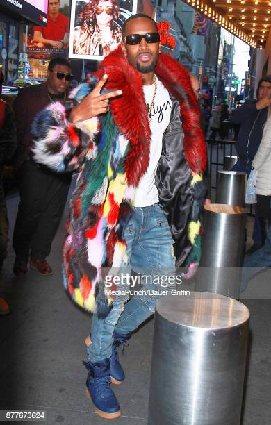 Safaree Samuels is seen on November 22 2017 in New York City