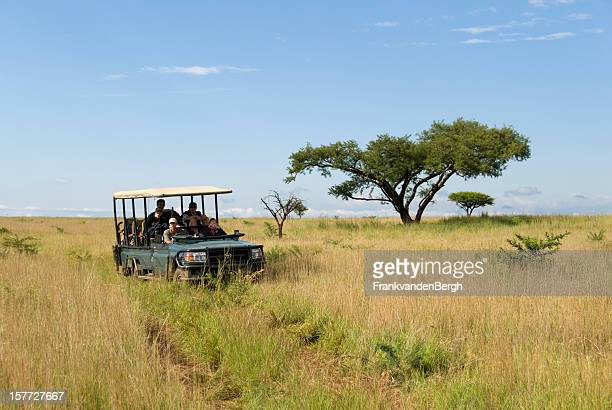 Safari Vehicle at the Savannah