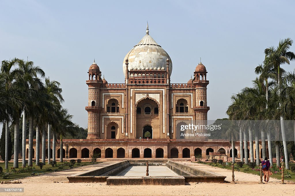 Safdarjung Tomb in Delhi : Stock Photo