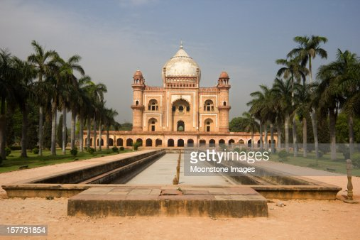 Safdarjung's Tomb in Delhi, India