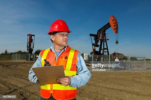 Safety at an Oil Field