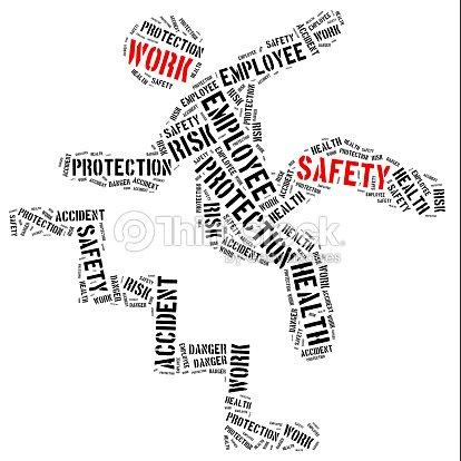 Concepto De Seguridad En El Trabajo Palabra Nube