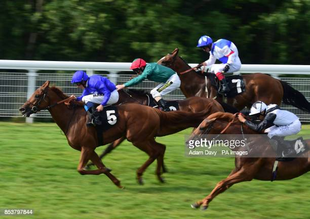 Safety Check ridden by William Buick wins the Tatler Stakes during day three of Glorious Goodwood at Goodwood Racecourse West Sussex