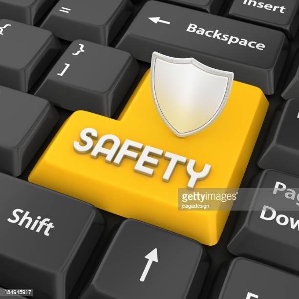 Sicherheit geben Sie Schlüssel