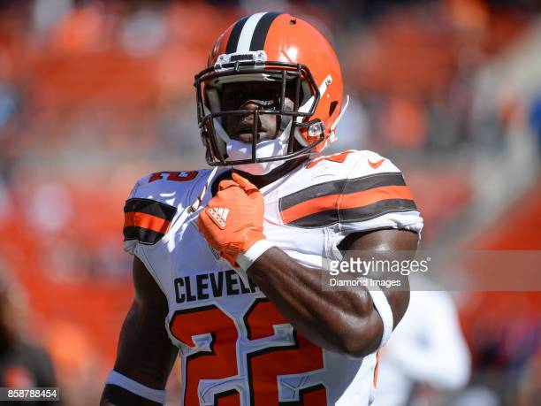 Safety Jabrill Peppers of the Cleveland Browns walks off the field prior to a game on October 1 2017 against the Cincinnati Bengals at FirstEnergy...
