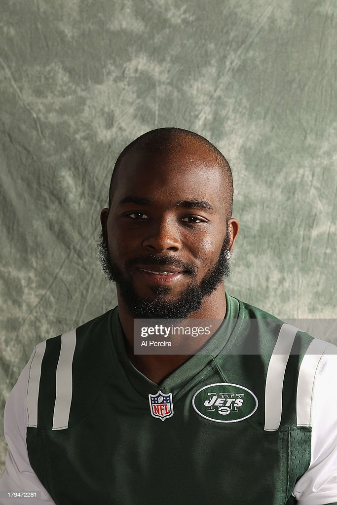 Safety Jaiquawn Jarrett #37 of the New York Jets poses during a portrait session on September 1, 2013 in Florham Park, New Jersey.