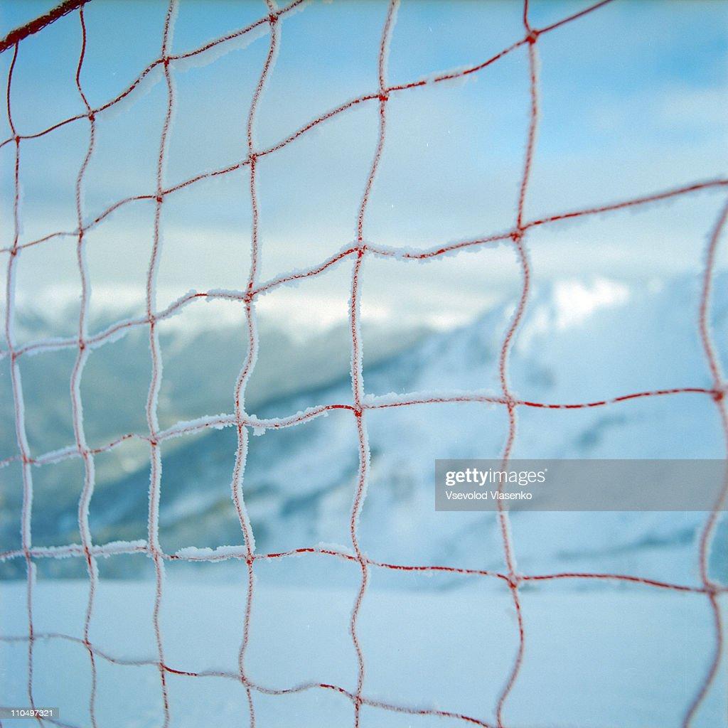 safety net in Krasnaya Polyana mountain resort