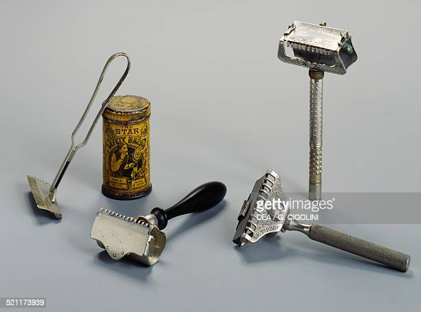 Safety razors late 19th century and early 20th century Unspecified
