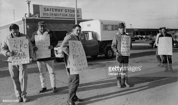 Safeway Stores Warehouse Food Distribution Center 4600 E 46th Ave Picketed by National Farmers Organization Picketing also was reported Monday...