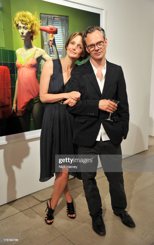 <a gi-track='captionPersonalityLinkClicked' href=/galleries/search?phrase=Saffron+Aldridge&family=editorial&specificpeople=208837 ng-click='$event.stopPropagation()'>Saffron Aldridge</a> and Miles Aldridge attend the private view of 'Miles Aldridge: I Only Want You To Love Me' at Embankment Gallery on July 9, 2013 in London, England.