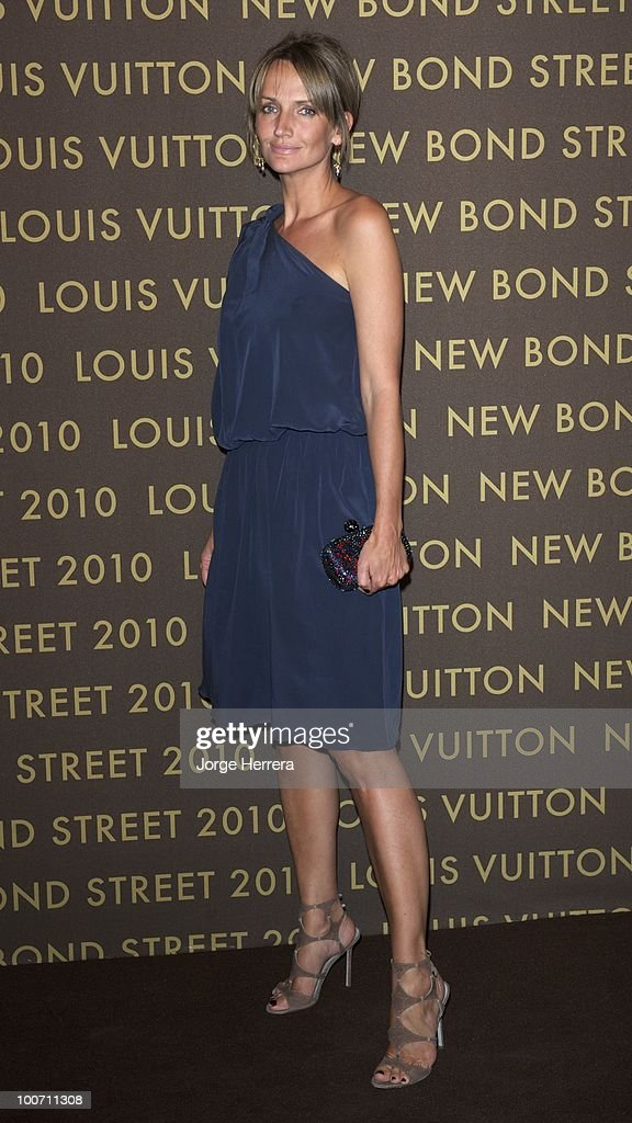 Saffron Aldridge attends the after party for the launch of the Louis Vuitton Bond Street Maison on May 25, 2010 in London, England.