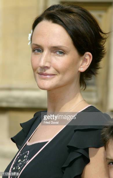 Saffron Aldridge during NSPCC Celebrity Hall Of Fame 2004 London Photocall at House Of Commons in London Great Britain