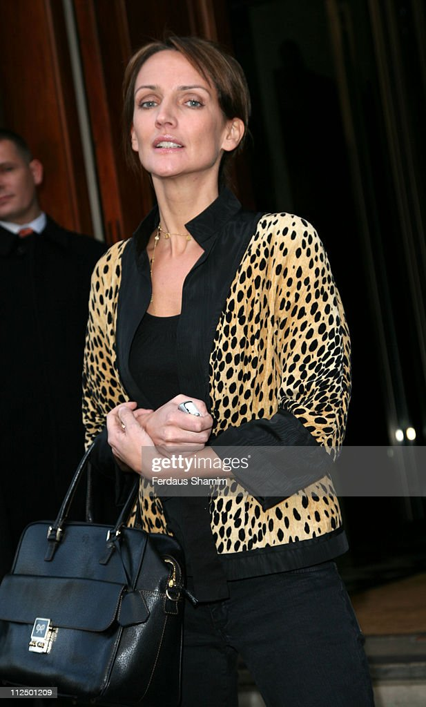 Saffron Aldridge during The Old Vic Fundraiser - VIP Lunch - Arrivals at Fifty in London, Great Britain.