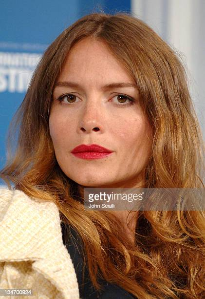 Saffron Burrows during 31st Annual Toronto International Film Festival 'Faye Grim' Press Conference at Sutton in Toronto Ontario Canada