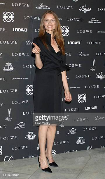 Saffron Burrows during Loewe's 160 Aniversary Party in Madrid at Circulo de Bellas Artes in Madrid Spain
