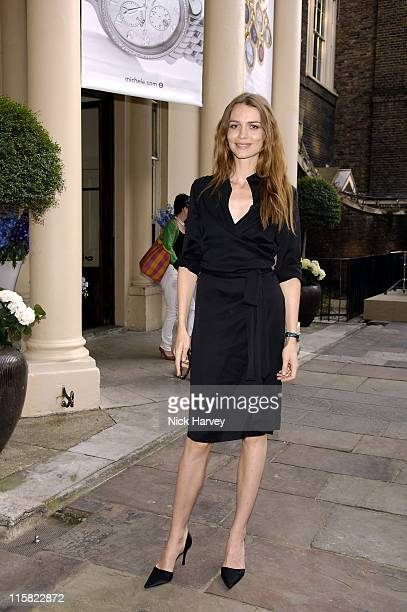 Saffron Burrows during Michele Watches Summer Party – Inside at Home House in London Great Britain