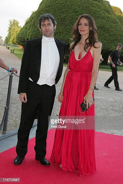 Saffron Burrows during Raisa Gorbachev Foundation Party Red Carpet at Hampton Court Palace in London United Kingdom
