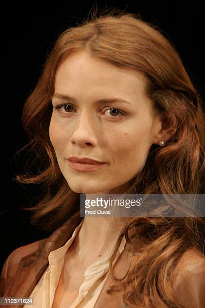 Saffron Burrows during 'Some Girl' Play Photocall May 19 2005 at Gielgud Theatre in London in London United Kingdom