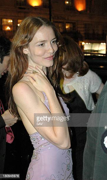 Saffron Burrows during 'Some Girls' Press Night in London Great Britain