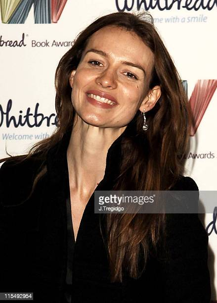Saffron Burrows during Whitbread Book of the Year Award 2005 at The Brewery in London Great Britain