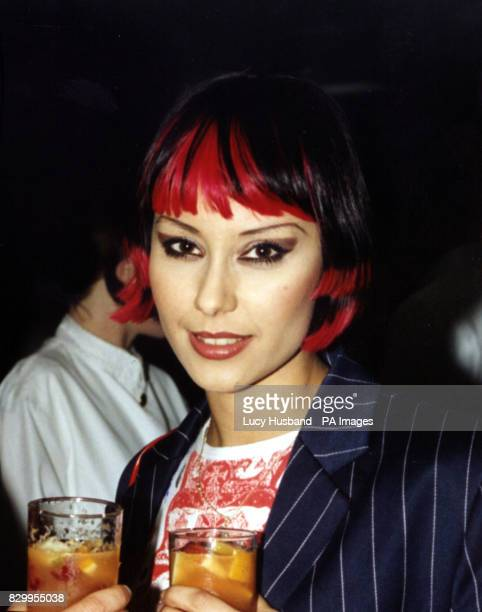 Saffron lead singer with Republica at the Elle Style Awards in London