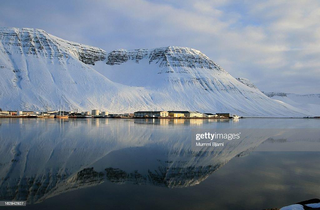 Ísafjörður : Stock Photo