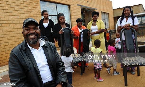 SAfricapoliticsZumapolygamyFOCUS by Manqoba Nxumalo A happy Robert Chauke with 5 of his 6 wives at his home in a small compound outside Johannesburg...