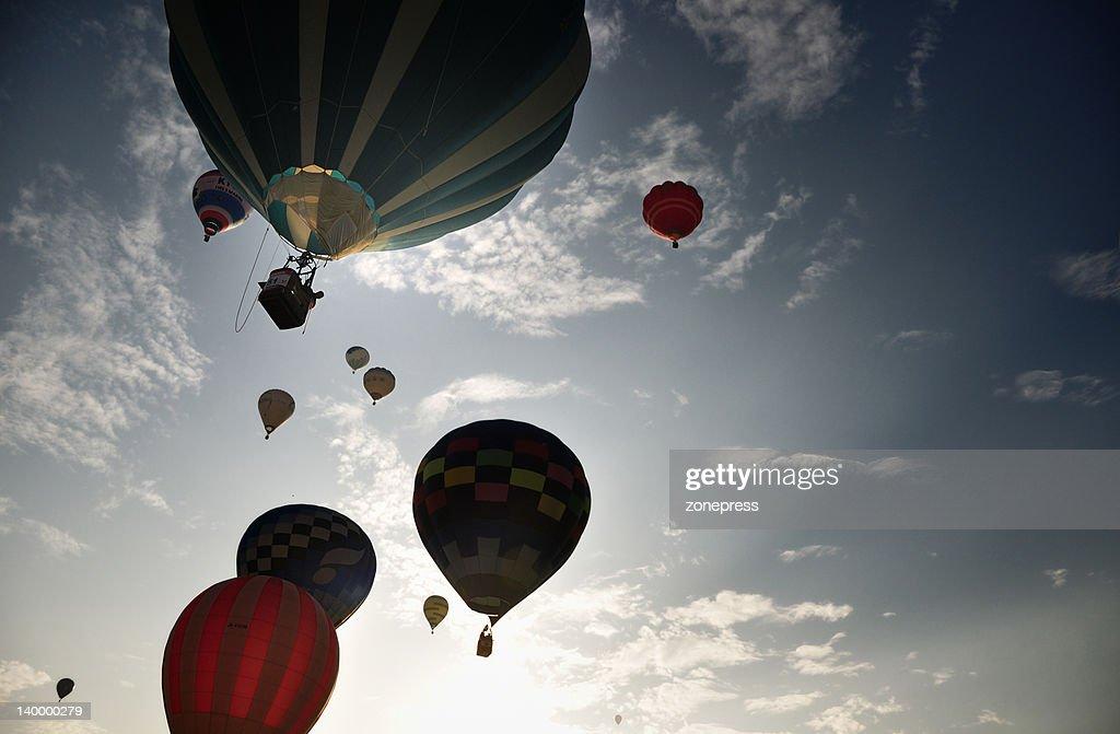 Saga International balloon fiesta : Stock Photo