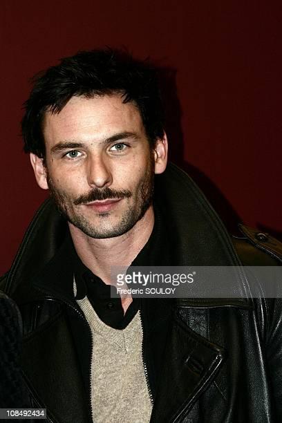 Sagamore Stevenin in Paris France on December 13th 2004